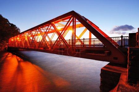 Sansen Bridge in Hokkaido, Japan