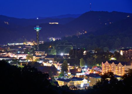 Downtown Gatlinburg, Tennessee