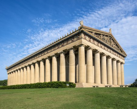Photo for Parthenon Replica at Centennial Park in Nashville, Tennessee, USA. - Royalty Free Image