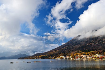 Lake Chuzenji in Japan