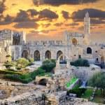 Tower of David in Jerusalem, Israel.