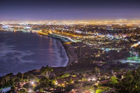 Pacific Coast of Los Angeles