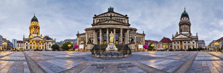 Photo for Berlin, Germany at historic Gendarmenmarkt square. - Royalty Free Image