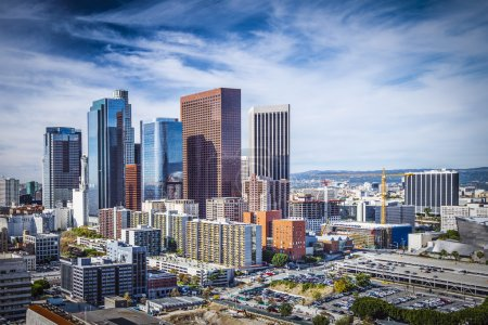 Photo for Los Angeles, California, USA downtown cityscape. - Royalty Free Image