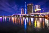 Tokyo, Japan cityscape at Sumida River.