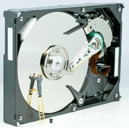 Cleaning up a hard drive