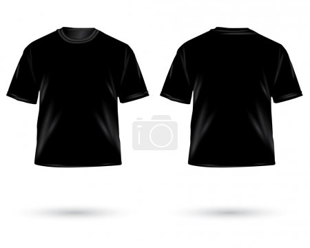 Photo for . Men's t-shirt design template - Royalty Free Image
