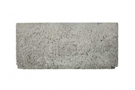 Photo for Concrete block isolated on whit - Royalty Free Image