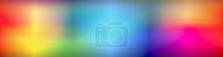 Photo for Abstract led rainbow colored background - Royalty Free Image