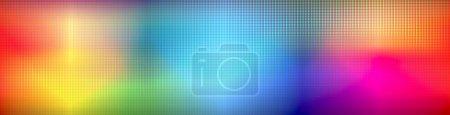 Photo pour Abstrait conduit arc-en-ciel fond coloré - image libre de droit