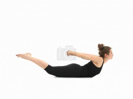 Difficult yoga posture