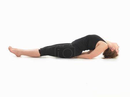 Relaxation yoga posture