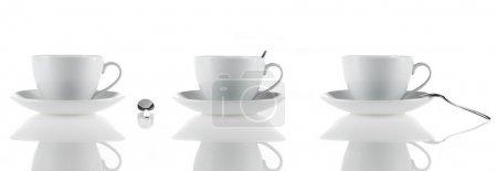 Photo pour Détail de tasse de thé - image libre de droit