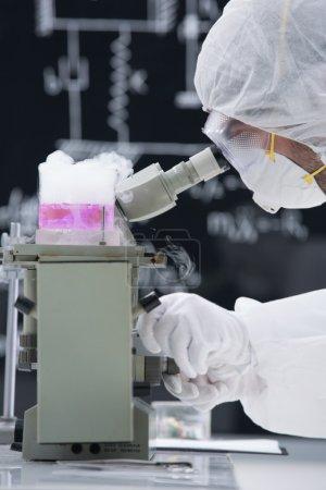 laboratory chemical analysis