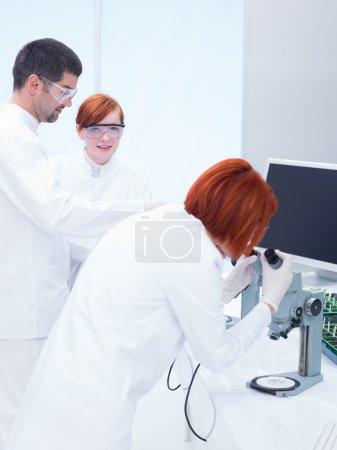 supervised laboratory analysis
