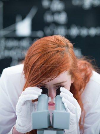 laboratory microscope analysis