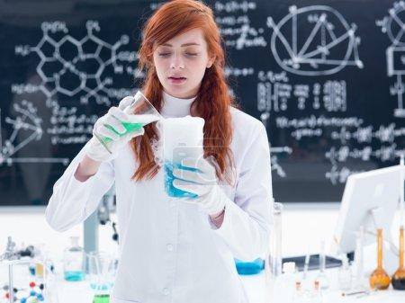 laboratory liquid experiment