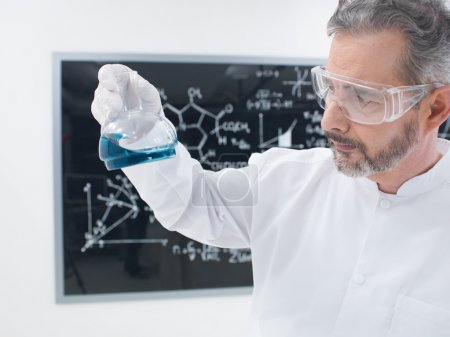 scientist lab chemical experiment
