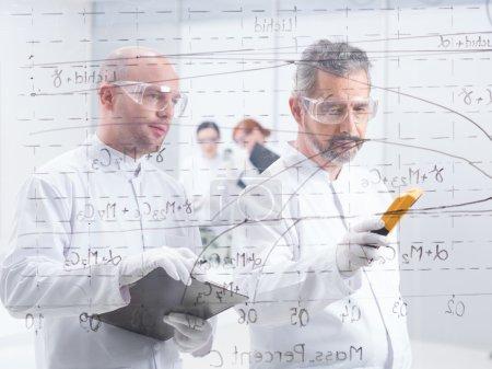 Chemistry lab data analysis
