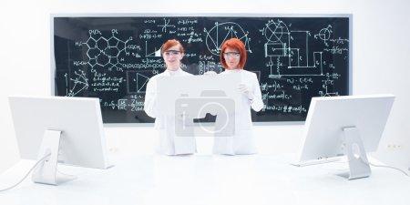 Chemistry lab general view