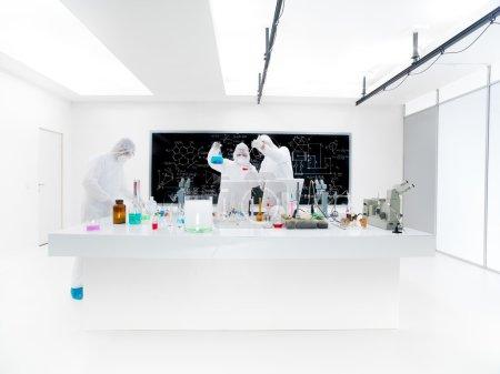 scientists lab analysis