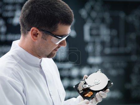 hard disk analysis