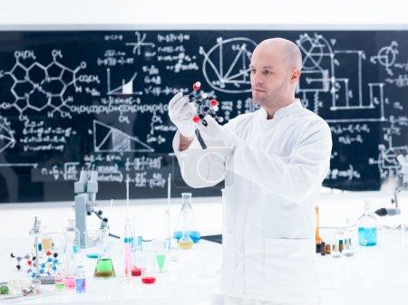 scientist molecular analysis