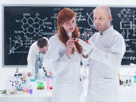 molecular laboratory analysis