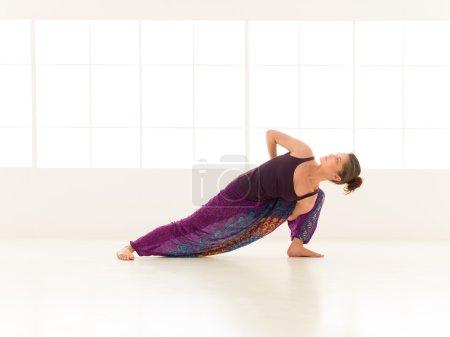 yoga practice exercise indor