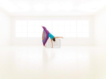 dance jumping women gym