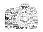Typographic SLR camera