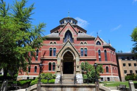 Photo pour Providence, Rhode Island. Ville dans la région de la Nouvelle-Angleterre des États-Unis. Université Brown, Département d'économie . - image libre de droit