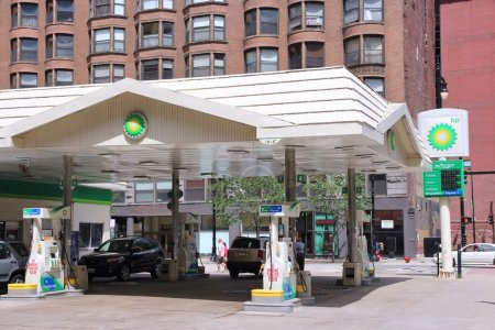 Chicago - BP gas station