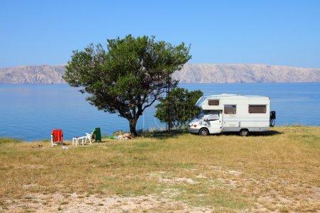 Adriatic Sea camping