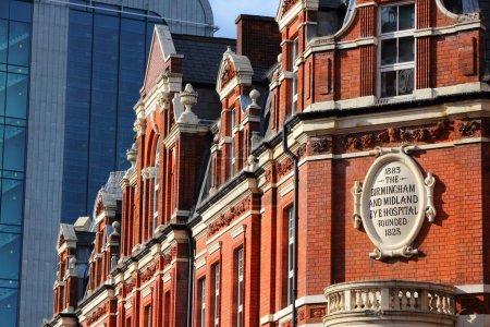 Photo pour Birmingham dans les west midlands, Angleterre. midland hôpital Birmingham - ancien centre de soins de santé d'ophtalmologie. - image libre de droit