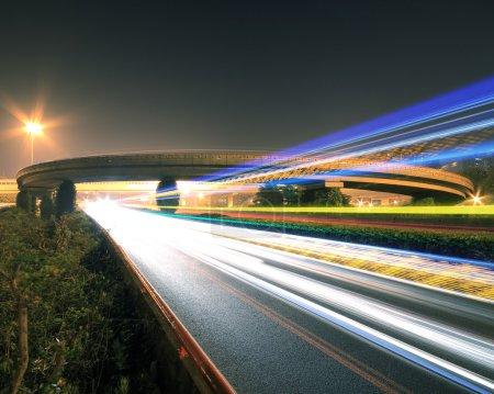 Highway bridge at Night