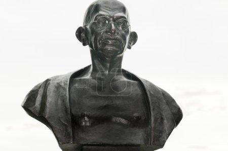 Ghandi bronze sculpture