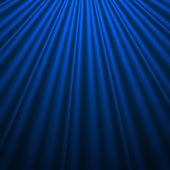 Background with Blue Silk Vector illustration Eps10