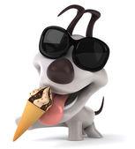 Pes a zmrzlina
