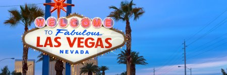 Photo for Welcome to fabulous Las Vegas Nevada, city sign - Royalty Free Image