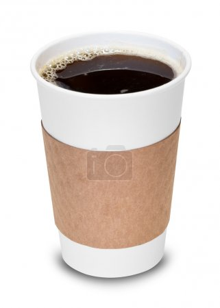 Photo for Cup of coffee with clipping path - Royalty Free Image