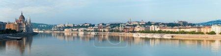 Budapest morning panorama.