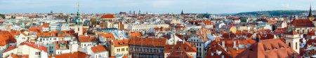 Photo pour Vue panoramique du soir sur Stare Mesto (Vieille Ville), Prague, République tchèque . - image libre de droit
