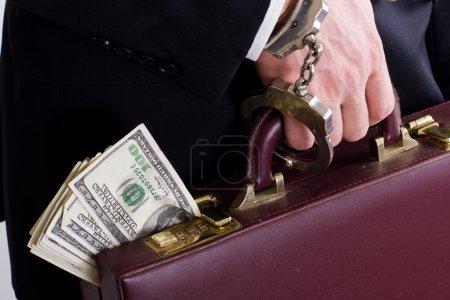 corrupt business