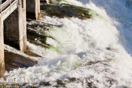 Photo pour Réservoirs et utilisation durable de l'eau en Amérique , - image libre de droit