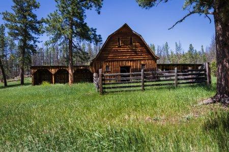 antigua granja en Dakota del Sur