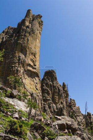 hiking in Custer State Park, South Dakota