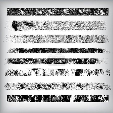 Illustration pour Design conceptuel abstrait et créatif L'art des lignes de Grunge et des vecteurs d'AVC - image libre de droit