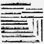 Creative Abstract Conceptual Design Art of Grunge Frame Borders Edges Vectors