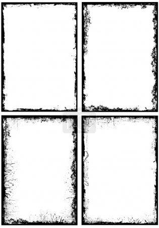 Grunge Frames Vectors